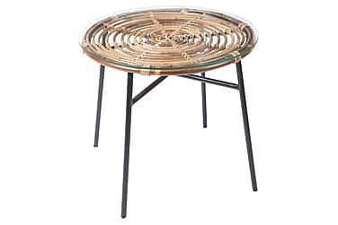 Sivupöytä Koriander Pyöreä 46 cm Rottinki