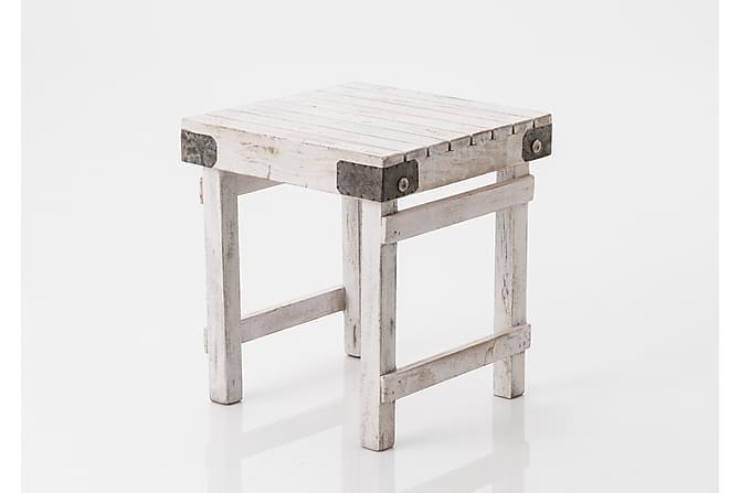 Sivupöytä Loeding 40x45 cm - Valkoinen - Huonekalut - Pöydät - Lamppupöydät & sivupöydät