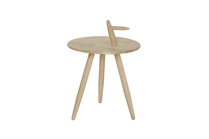 Sivupöytä Oeste 45 cm Pyöreä - Tammi - Huonekalut - Pöydät - Lamppupöydät & sivupöydät