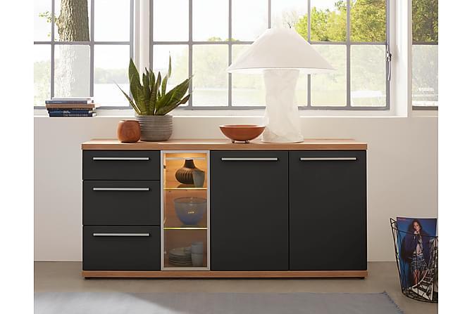 Sivupöytä Tierah - Ruskea - Huonekalut - Pöydät - Lamppupöydät & sivupöydät