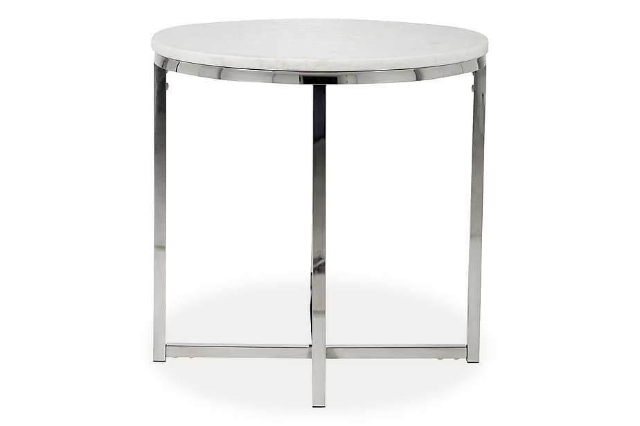 Sivupöytä Titania 50 cm Pyöreä Marmori