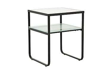 Sivupöytä Vivian 40 Valkoinen/Musta