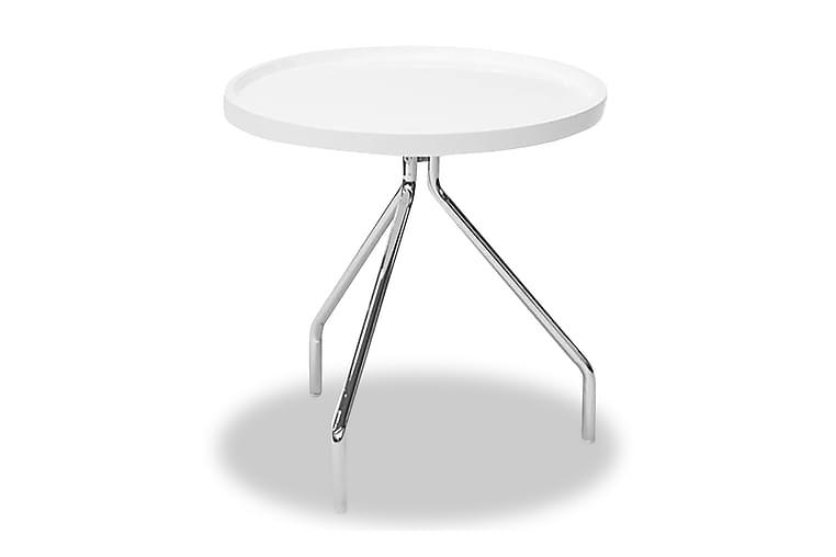Tray Lamppupöytä - Pyöreä Valkoinen - Sisustustuotteet - Pienet kalusteet - Tarjotinpöydät & pienet pöydät