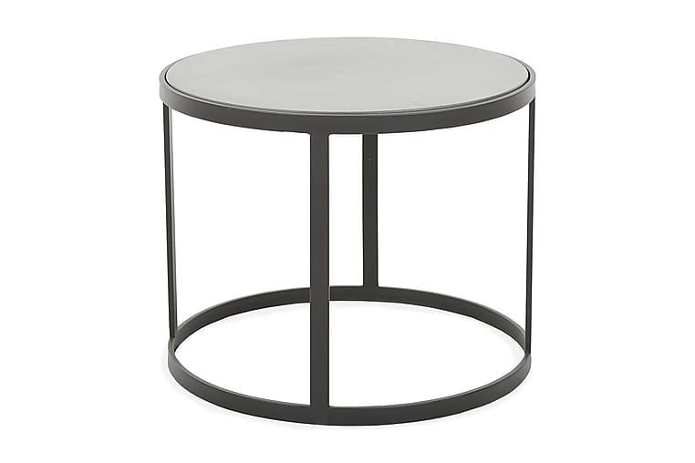 Sivupöytä Smuggler 60 cm - Musta/Harmaa - Sisustustuotteet - Pienet kalusteet - Tarjotinpöydät & pienet pöydät