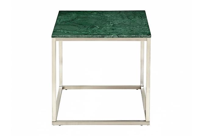 Sivupöytä Titania 50 Teräs/Vihreä - Huonekalut - Pöydät - Yöpöydät