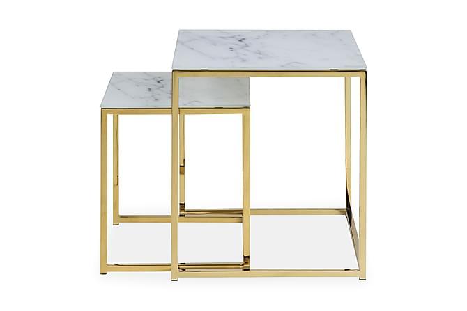 Sohvapöytä Alisma 45 cm - Harmaa/Keltainen - Huonekalut - Pöydät - Sohvapöydät