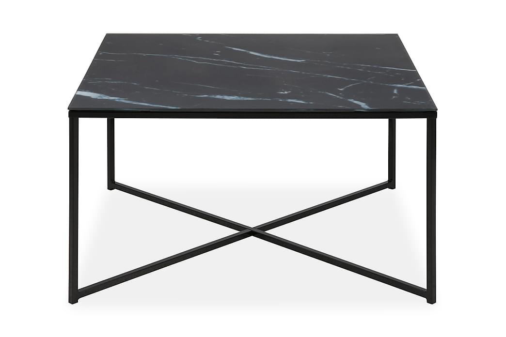 Sohvapöytä Alisma 80 cm - Musta - Huonekalut - Pöydät - Sohvapöydät