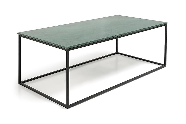 Sohvapöytä Titania 120 cm Marmori - Vihreä/Musta - Huonekalut - Pöydät - Sohvapöydät