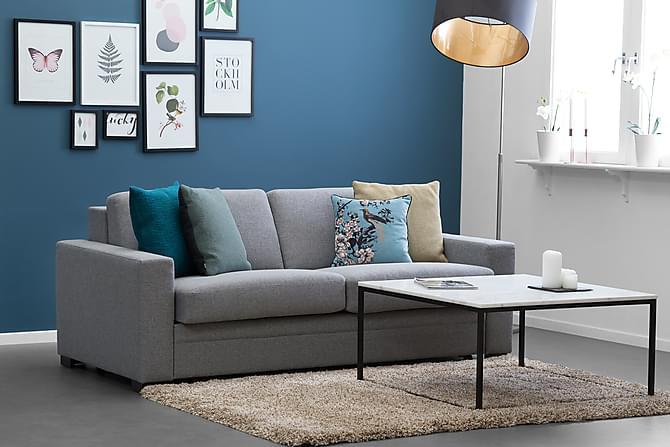 Sohvapöytä Titania 70 cm Marmori - Valkoinen/Musta - Huonekalut - Pöydät - Sohvapöydät