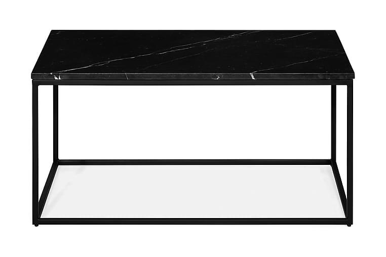 Sohvapöytä Titania 90 cm Marmori - Musta - Huonekalut - Pöydät - Sohvapöydät