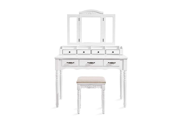 Meikkipöytä Emerson 148 cm - Vasagle - Huonekalut - Pöydät - Meikki- & kampauspöydät