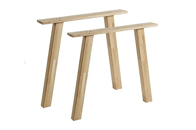 Pöydänjalka Tuor 2-pak - Tammi - Huonekalut - Pöydät - Pöydänjalat & tarvikkeet