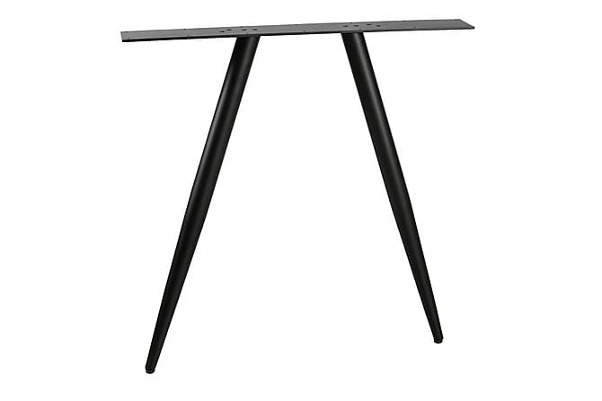 Pöydänjalka Patti - Musta - Huonekalut - Pöydät - Pöydänjalat & tarvikkeet