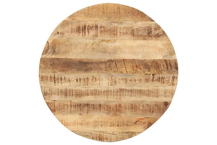 Pöytälevy täysi mangopuu pyöreä 15-16mm 50 cm - Ruskea - Huonekalut - Pöydät - Pöydänjalat & tarvikkeet