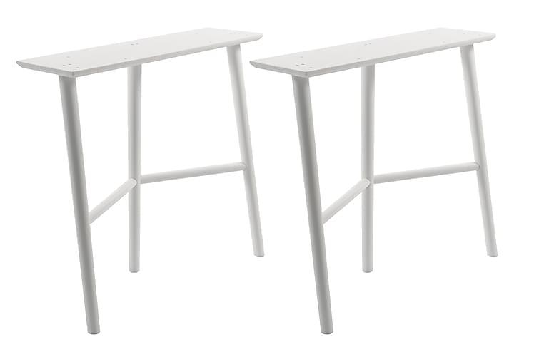 Pukkijalka Svenstorp 80 cm - Valkoinen - Huonekalut - Pöydät - Pöydänjalat & tarvikkeet