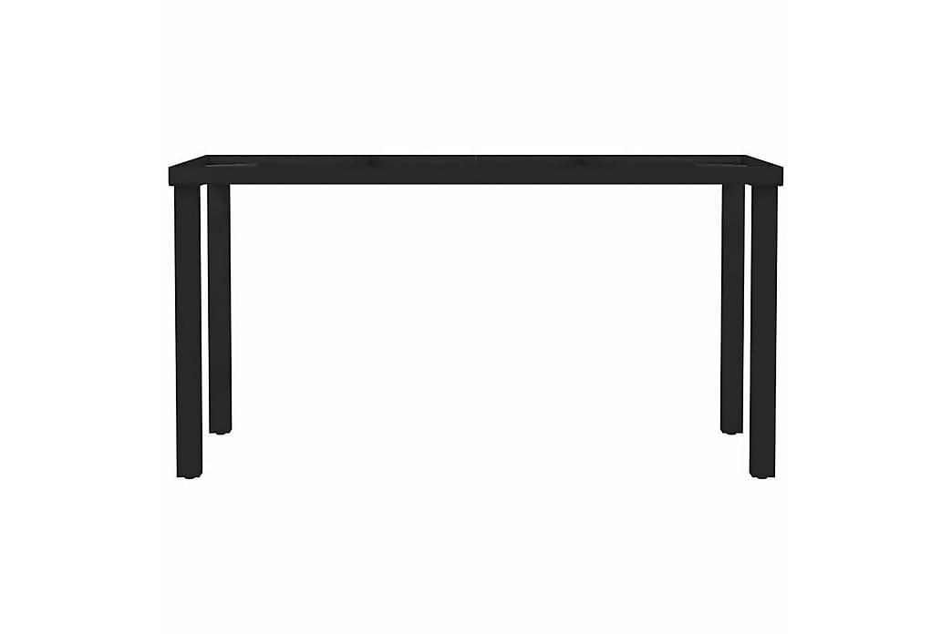 Ruokapöydän jalat I-runko 140x60x72 cm - Huonekalut - Pöydät - Pöydänjalat & tarvikkeet