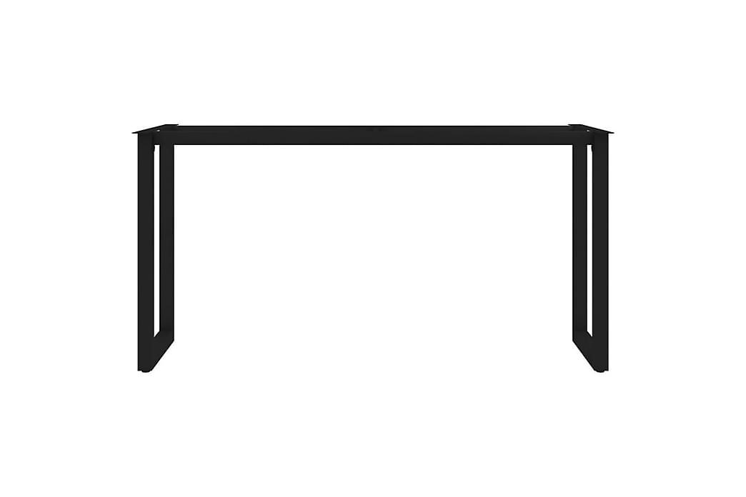 Ruokapöydän jalat O-runko 160x70x72 cm - Huonekalut - Pöydät - Pöydänjalat & tarvikkeet