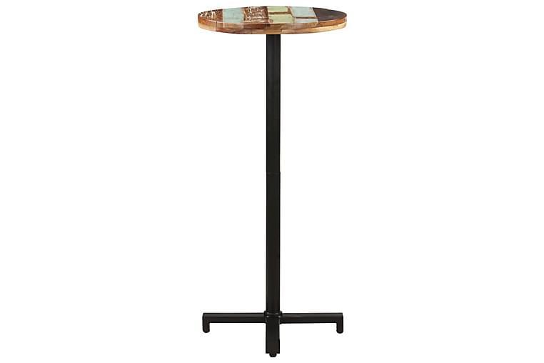 Bistropöytä pyöreä Ø50x110 cm kierrätetty täyspuu - Huonekalut - Pöydät - Ruokapöydät & keittiön pöydät