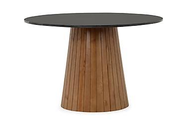 Pöytä Dunja Musta/pähkinä