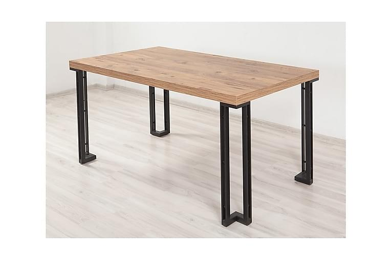 Pöytä Trentman 75 cm - Puu/Luonnonväri/Musta - Huonekalut - Pöydät - Ruokapöydät & keittiön pöydät