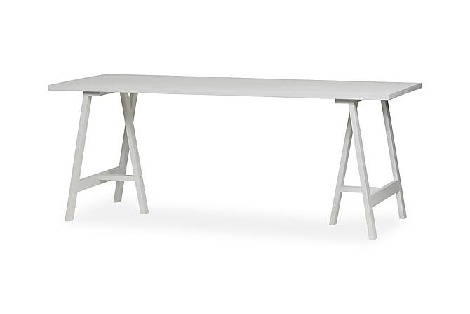 Pöytälevy ruokapöytään Sendoa 220 cm - Valkoinen Saarni - Huonekalut - Pöydät - Ruokapöydät & keittiön pöydät