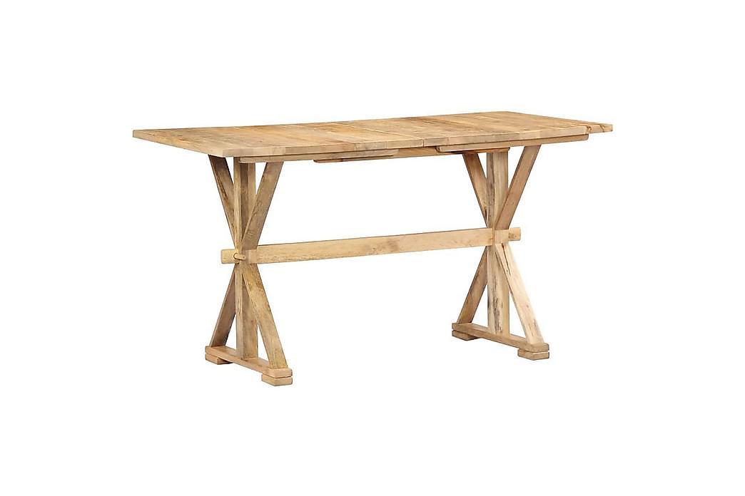 Ruokapöytä 118x58x76 cm mangopuu - Ruskea - Huonekalut - Pöydät - Ruokapöydät & keittiön pöydät