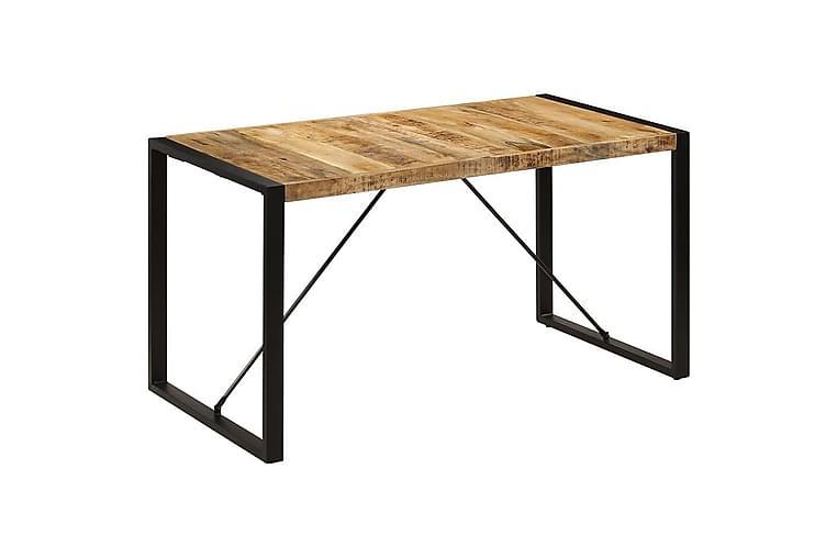 Ruokapöytä 140x70x75 cm mangopuu - Ruskea - Huonekalut - Pöydät - Ruokapöydät & keittiön pöydät
