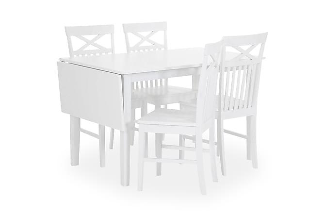 Ruokapöytä Antigone Jatkettava 120 cm - Valkoinen - Huonekalut - Pöydät - Ruokapöydät & keittiön pöydät