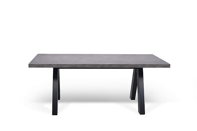 Ruokapöytä Apex 200 cm - Betoni - Huonekalut - Pöydät - Ruokapöydät & keittiön pöydät