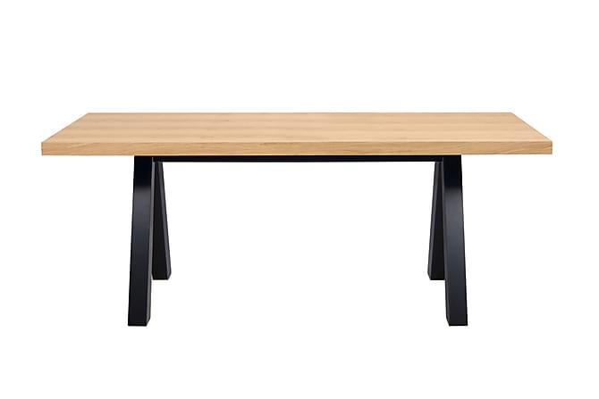 Ruokapöytä Apex 200 cm - Puu/Luonnonväri - Huonekalut - Pöydät - Ruokapöydät & keittiön pöydät