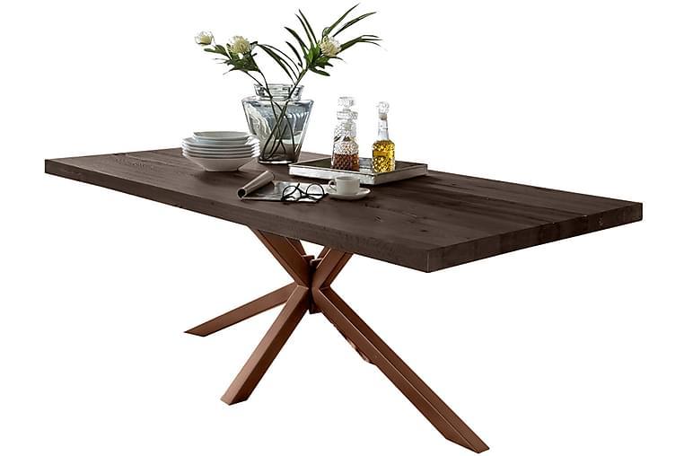 Ruokapöytä Arhunda - Harmaa / Ruskea - Huonekalut - Pöydät - Ruokapöydät & keittiön pöydät