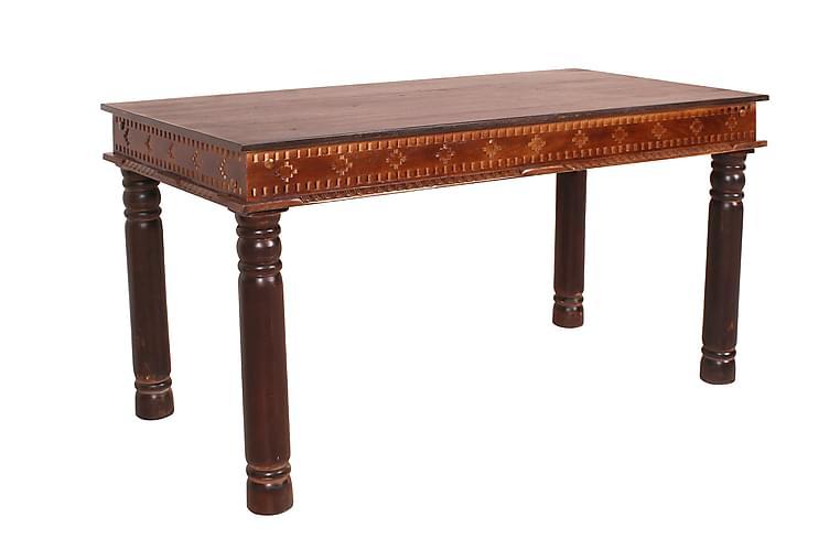 Ruokapöytä Camelford 140 cm - Kierrätetty puu/ruskea - Huonekalut - Pöydät - Ruokapöydät & keittiön pöydät
