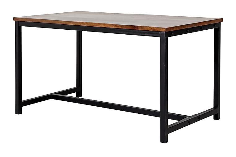 Ruokapöytä Chicago 145 cm - Ruskea/Musta - Huonekalut - Pöydät - Ruokapöydät & keittiön pöydät
