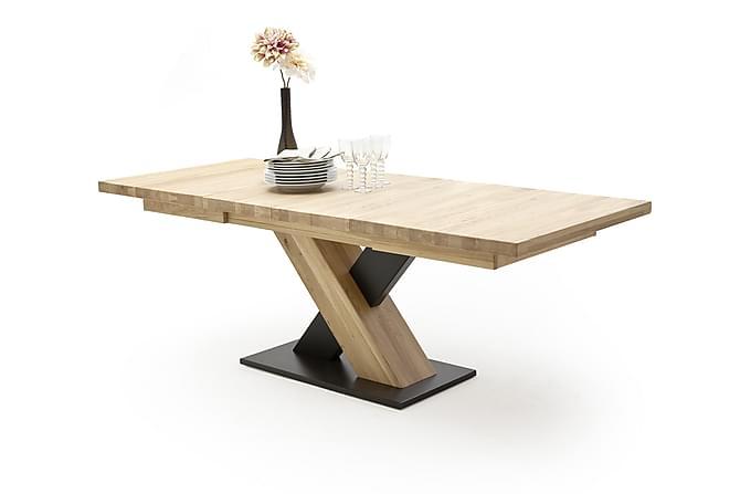 Ruokapöytä Conevo 180 cm - Puu/Luonnonväri - Huonekalut - Pöydät - Ruokapöydät & keittiön pöydät