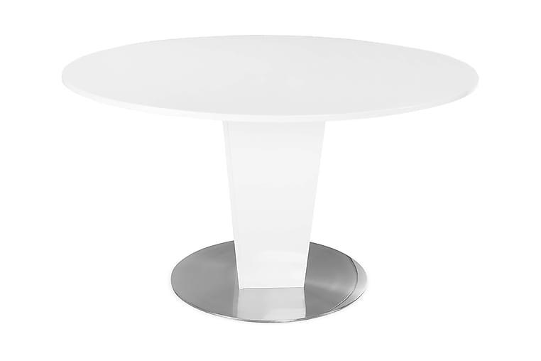 Ruokapöytä Diadema 135 cm Pyöreä - Valkoinen - Huonekalut - Pöydät - Ruokapöydät & keittiön pöydät