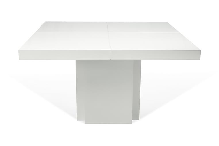 Ruokapöytä Dusk 130 cm - Valkoinen - Huonekalut - Pöydät - Ruokapöydät & keittiön pöydät