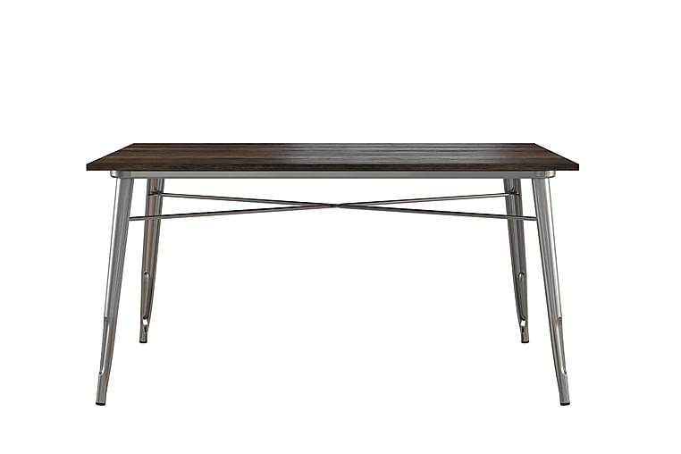 Ruokapöytä Fusion 150 cm Teräksenharmaa - Dorel Home - Huonekalut - Pöydät - Ruokapöydät & keittiön pöydät