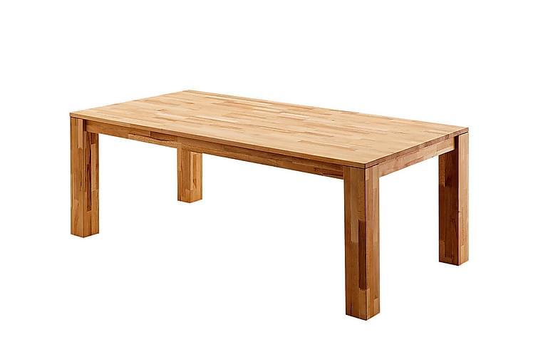 Ruokapöytä Gerhard Jatkettava 200 cm - Tammi - Huonekalut - Pöydät - Ruokapöydät & keittiön pöydät