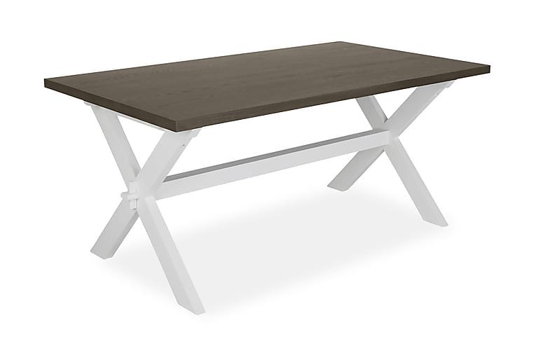 Ruokapöytä Gitalaya 180 cm - Ruskea/Valkoinen - Huonekalut - Pöydät - Ruokapöydät & keittiön pöydät