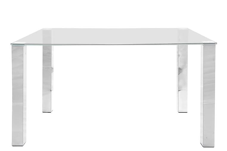 Ruokapöytä Henry 140 cm - Lasi/Kromi - Huonekalut - Pöydät - Ruokapöydät & keittiön pöydät
