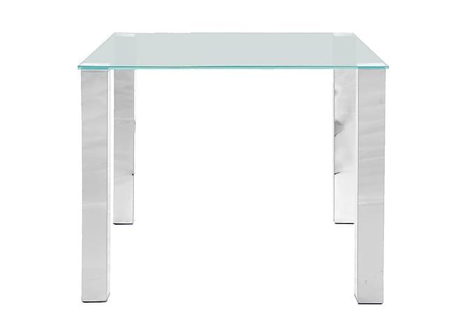 Ruokapöytä Henry 90 cm - Lasi/Kromi - Huonekalut - Pöydät - Ruokapöydät & keittiön pöydät