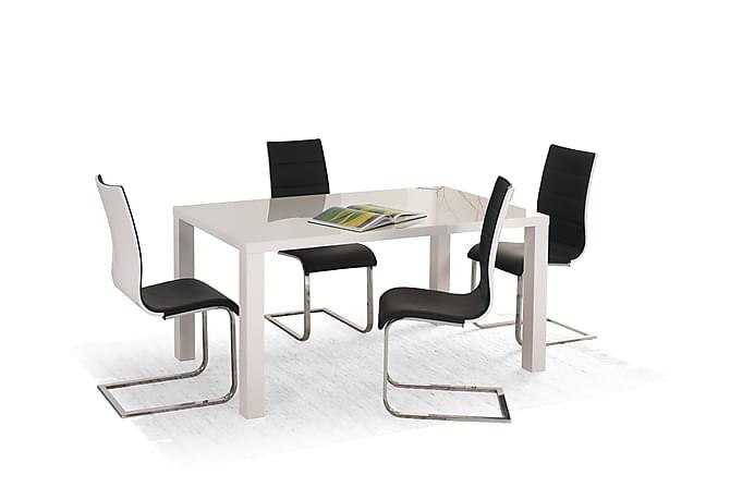 Ruokapöytä Herme Jatkettava 140 cm - Valkoinen - Huonekalut - Pöydät - Ruokapöydät & keittiön pöydät