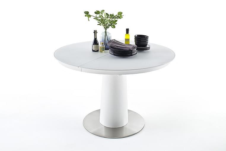 Ruokapöytä Hydento Jatkettava 120 cm - Valkoinen - Huonekalut - Pöydät - Ruokapöydät & keittiön pöydät