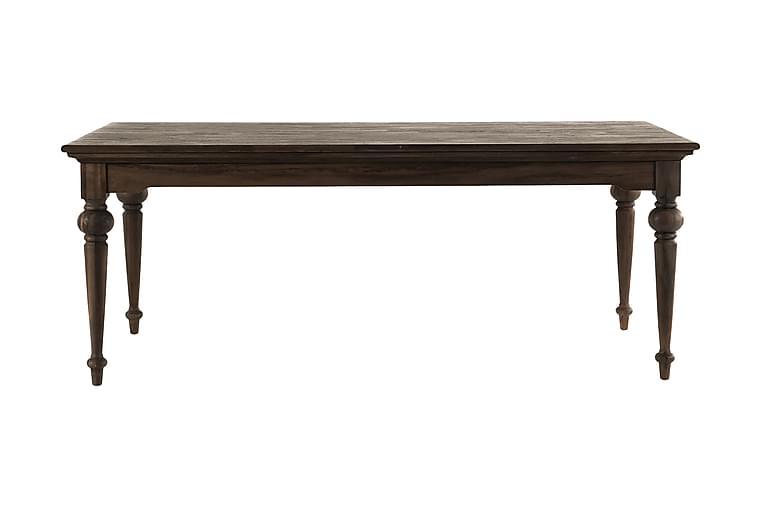 Ruokapöytä Hygge 200 cm - Ruskea - Huonekalut - Pöydät - Ruokapöydät & keittiön pöydät