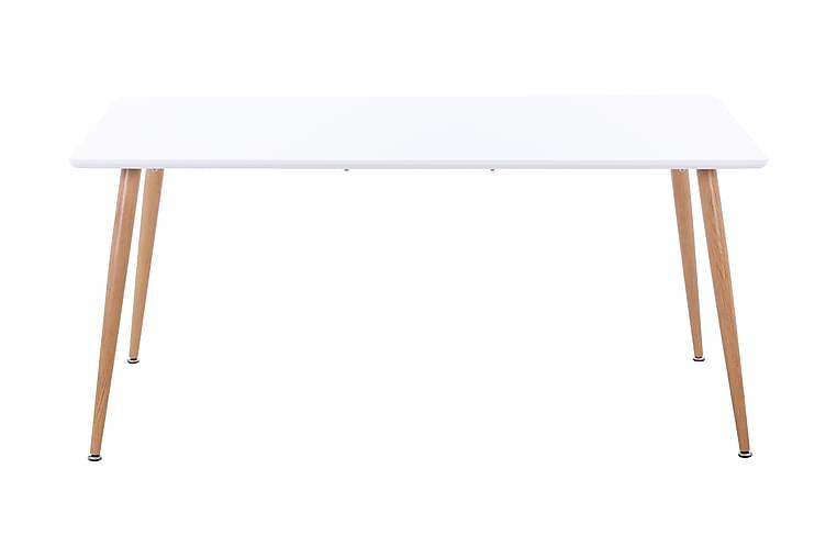 Ruokapöytä Ivonn 140 cm - Valkoinen - Huonekalut - Pöydät - Ruokapöydät & keittiön pöydät