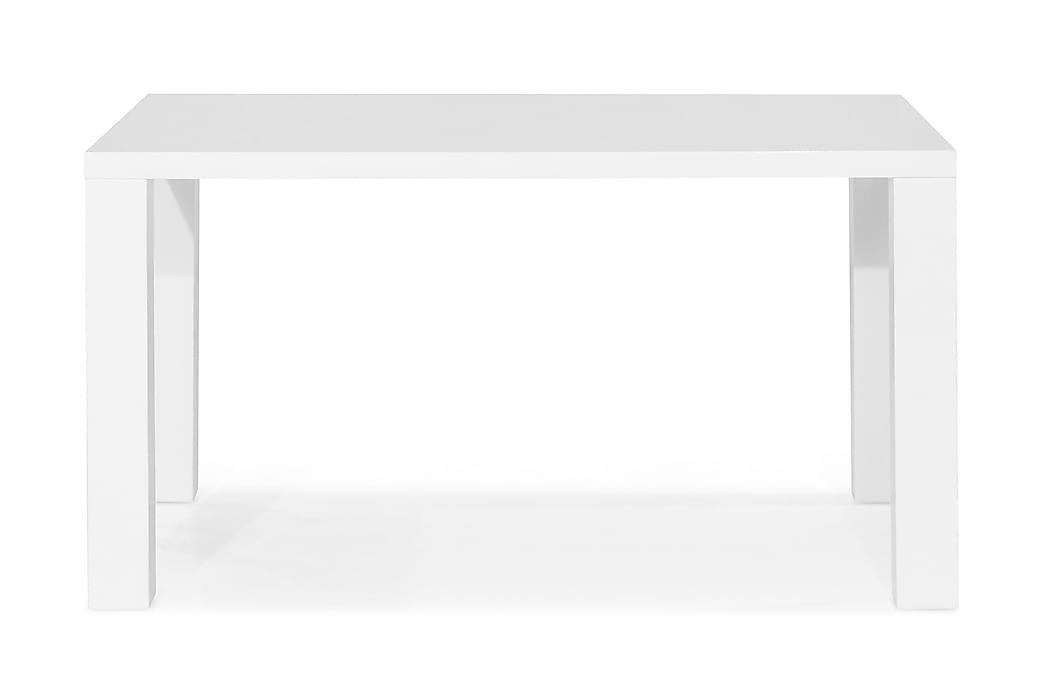 Ruokapöytä Jack 140 cm - Valkoinen - Huonekalut - Pöydät - Ruokapöydät & keittiön pöydät