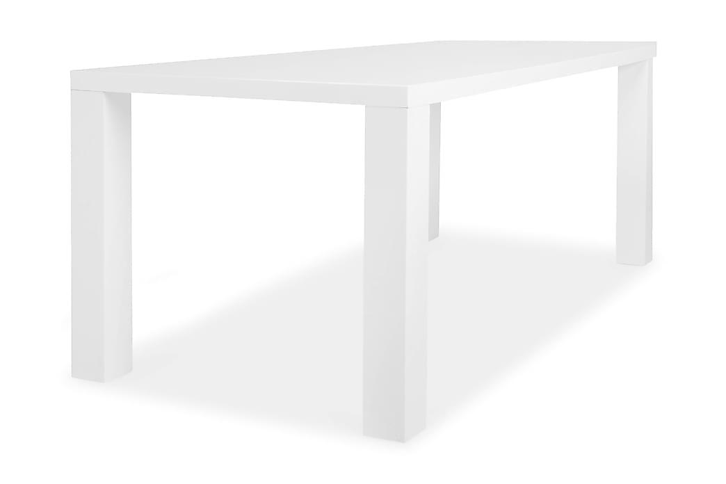 Ruokapöytä Jack Valkoinen 180x90 cm - Valkoinen - Huonekalut - Pöydät - Ruokapöydät & keittiön pöydät