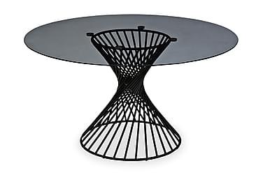 Ruokapöytä Jada 140 cm Pyöreä Lasi