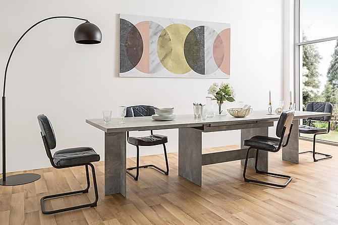Ruokapöytä Jatkettava Mismara - Harmaa - Huonekalut - Pöydät - Ruokapöydät & keittiön pöydät