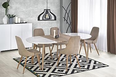 Ruokapöytä Kiplin Jatkettava 120 cm